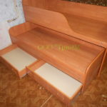 Двухспальная кровать с ящиками_2