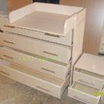 Пеленальный стол с тумбочками_2