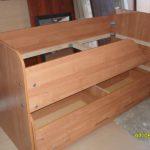 2-х местная кровать с ящиками