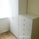 Шкаф с комодом №2